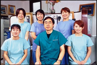 和田先生とスタッフ一同